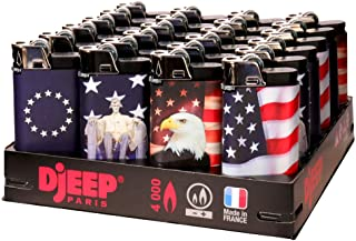 DJUS – Djeep Stars & Stripes Lighter (24ct.)