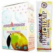 HH29 – (Hydro Lemonade) High Hemp Wraps (2 per pk., 25ct. Display)