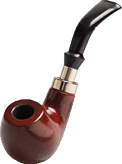 FP236 – Tobacco Pipe W/9mm Filter & Pouch
