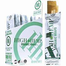 HH25 – High Hemp Organic Wraps (2pc pk, 25pk Display)