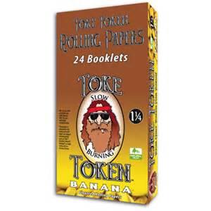 TKBN – Banana 1.25 Token Papers (25ct. Display)