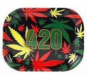RT64 – 420 Leaf Small Metal Rolling Tray 5″x7″