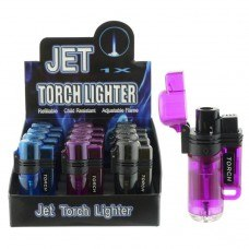 3804 – Frosted Color Single Torch (12ct.)
