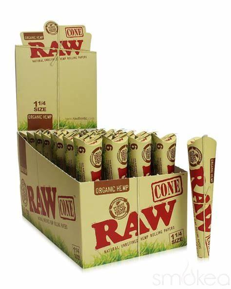 RC4 – Raw Organic Pre-Roll Cone 1.25 (6pk, 32ct.)