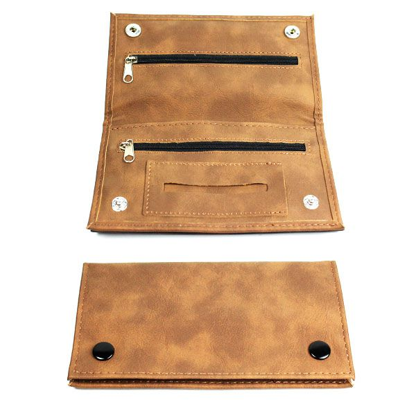 TP17 – Tobacco Pouch 6″ x 3″ (Comes in Black & Brown)
