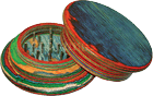 GR6 – 2pt. 2.5″ Multi-Color Wood Grinder