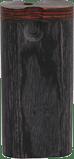 TT13 – 4″ Black Wood Dugout W/Cleaning Tool & Bat