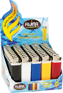 DL02 – Solid Color Disposable Lighter (50ct)