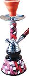 HK20A – 10.6″ 1-Hose Wrapped Hookah