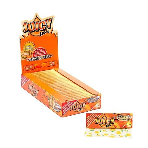 JPC – (Peaches & Cream) Juicy Jays 1.25″ Flavored Papers (24ct)