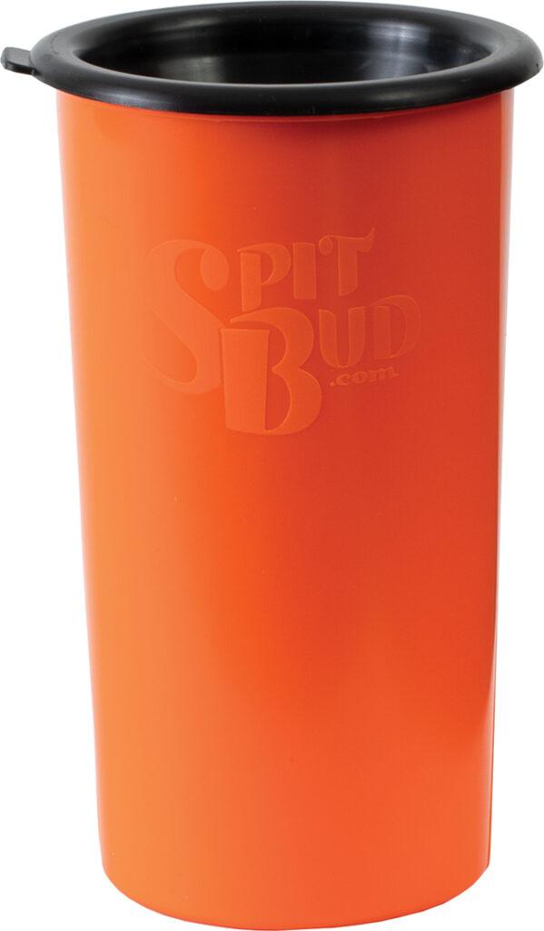 MJ32 – (Orange ) Spit Bud W/Can Cutter/Holder