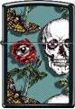 Z1099 – Skull/Rose/Eye/Butterfly Zippo