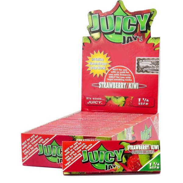 JST – (Strawberry Kiwi) Juicy Jay's 1.25″ Flavored Papers (24ct)