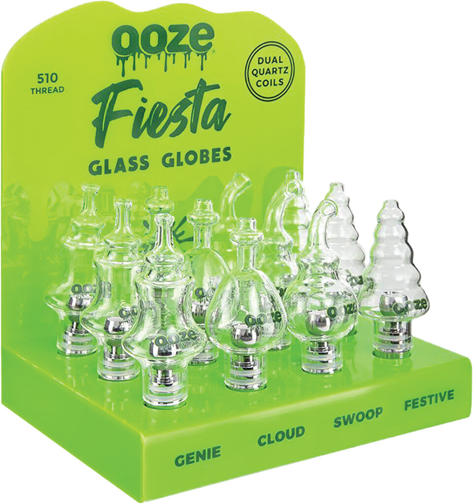V33 – Ooze Fiesta Glass Globe (12ct)