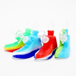 SP14 – Shoe Silicone Water Pipe